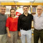 """Manuel e Isabel Jucá Isaac e Jorge Furtado 150x150 - Isaac Furtado lança seu terceiro livro, """"Caderno 53"""""""