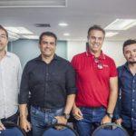 Marcio Serra, Sergio Vinhas, Luiz Lourenço E Cristiano Allen