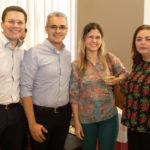 Marcos Alcanfor, Rodrigo Cortês, Luciana Teixeira E Sandra Linhares