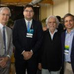 Marcos Pompeu Igor Celeste Joaquim Cartaxo e Rômulo Soares 150x150 - Ceará Global debate a internacionalização da economia cearense