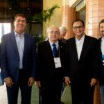 Marcos Pompeu Luiz Gastão Eduardo Bezerra Beto Studart e Élcio Batista 150x150 - Ceará Global debate a internacionalização da economia cearense