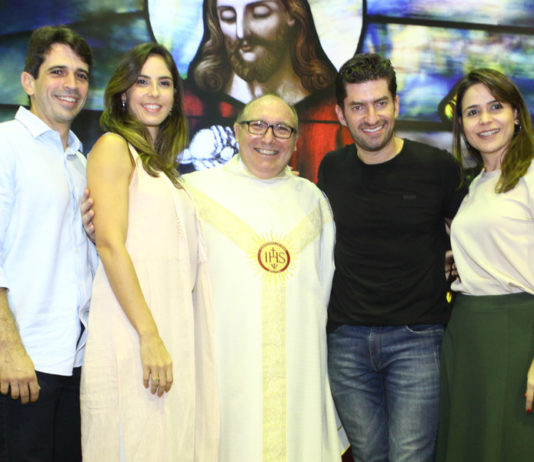 Mauricio Targino, Marilia Fiuza, Padre Eugenio Pacelli, Paulo E Camila Benevides