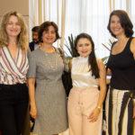 Monia Heuser, Cintia Diógenes, Darla Lopes E Renata Telles