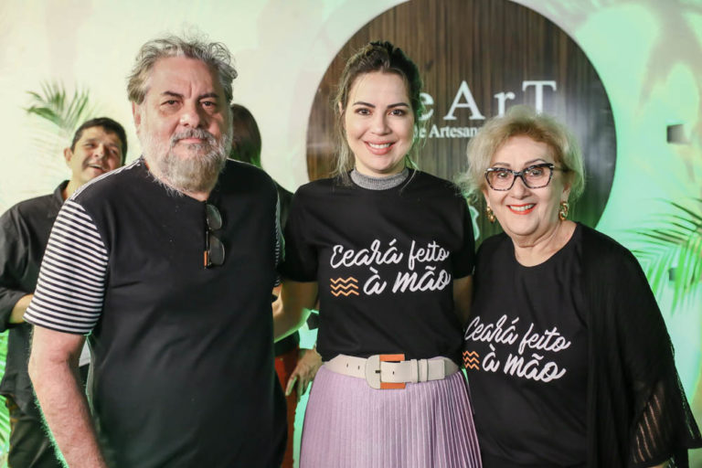 Onélia Santana inaugura nova loja da CeArt no Dragão do Mar