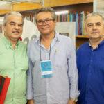 """Russen Moreira Eulálio Costa e Régis Moreira 150x150 - Isaac Furtado lança seu terceiro livro, """"Caderno 53"""""""