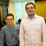 Vanderlei Diógenes e Sales Brandão 150x150 - Café com Energia debate redução de custos por meio da gestão energética