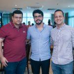 Zinho Jereisati, Rafael Fujita E Bernardo Prado