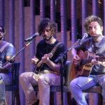 Caio Evangelista Rafael Martins e Gabriel Aragão 150x150 - Selvagens entrega itens para a memorabilia do Hard Rock Cafe