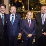 Cid Gomes Ricardo Cavalcante Prefeito Roberto Claudio e Julio Ventura Copy 1 150x150 - Ricardo Cavalcante é empossado presidente da FIEC