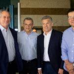 Ciro Gomes, José Sarto, Ferrucio E Ésio Feitosa (1)