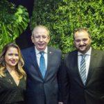 Denise Dias Ricardo Cavalcante e Patriolino Dias Copy 1 150x150 - Ricardo Cavalcante é empossado presidente da FIEC