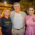 Elita Farias, Amarilio E Patricia Macedo