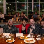 Juliana Alexandre Denor Sousa Claudio Mendes Rodrigo Vargas e Jadeilson Feitosa 1 150x150 - Hard Rock Cafe recebe primeira eliminatória do Viva Rock Latino
