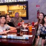 Marcos Vinícios Veridiana Araújo Fábio Machado Sarah e Jeane Clara Dantas 1 150x150 - Hard Rock Cafe recebe primeira eliminatória do Viva Rock Latino