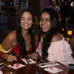 Maria Eduarda Santos e Rebeca Ramos 150x150 - Hard Rock Cafe recebe primeira eliminatória do Viva Rock Latino
