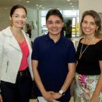 Mila Aragão, Fernando Damasceno E Andréa Porto