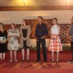 Neuma Figueiredo, Denise Castro, Débora Sombra, Fernando Novaes, Ana Virgínia Furlani E Pedro Ariel_