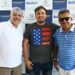 Paulo Paiva Alison Oliveira e Luiz Sergio 2 150x150 - Peugeot Belfort promove fim de semana de ofertas especiais