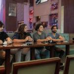 Rafael Martins Nicholas Magalhães Gabriel Aragão e Caio Evangelista 150x150 - Selvagens entrega itens para a memorabilia do Hard Rock Cafe