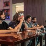 Rafael Martins Nicholas Magalhães Gabriel Aragão e Caio Evangelista 2 150x150 - Selvagens entrega itens para a memorabilia do Hard Rock Cafe