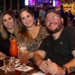 Rafaele Sobreira Andréa Dantas e Thiago Vasconcelos 1 150x150 - Hard Rock Cafe recebe primeira eliminatória do Viva Rock Latino