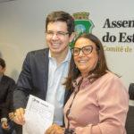 Randolfe Rodrigues E Toinha Rocha
