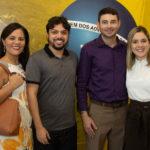 Roberta Laena, Márcio Lopes, Caio Silveira E Lis Damasceno