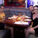 Rochele Flores Henrique Prudencio e Ana Paula Dominski 150x150 - Hard Rock Cafe recebe primeira eliminatória do Viva Rock Latino