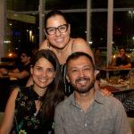 Tarciana Luna Poliana Ramalho e Lucílio Lessa 1 150x150 - Hard Rock Cafe recebe primeira eliminatória do Viva Rock Latino