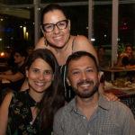 Tarciana Luna Poliana Ramalho e Lucílio Lessa 2 150x150 - Hard Rock Cafe recebe primeira eliminatória do Viva Rock Latino