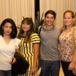 Vanessa Vasconcelos, Elane Leandro, Thiago Almeida E Cândida Araújo