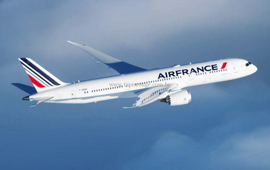 Air France usará avião maior e mais moderno para Fortaleza, o Boeing 787 Dreamliner