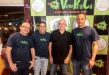 Antomario Ora, Eduardo Soares, Alcimor Rocha E Ailton Junior