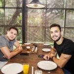 Bruno Fernndes e Bruno Camara 1 150x150 - Os cliques do almoço de sexta no Giz Cozinha Boêmia