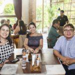 Cibele Leite Ana Kercia e Celio Veras 2 150x150 - Os cliques do almoço de sexta no Giz Cozinha Boêmia
