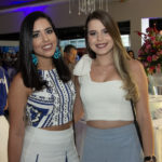 Crisly Bezerra e Bruna Moura 150x150 - Sellene Party celebra Dia do Nutricionista com grande festa no La Maison