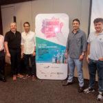 Daniel Demétrio Aroldo e Davi Rodrigues Bernardo Veloso e Alexandre Frota 150x150 - In3Citi, Marquise e BNB selecionam até seis negócios de impacto para o Ceará; chamada nacional recebeu 185 projetos