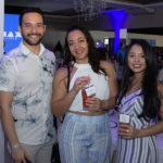 Gerliano Nogueira Bárbara Lins e Rebeca Thé 150x150 - Sellene Party celebra Dia do Nutricionista com grande festa no La Maison