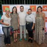 Liliane Pereira, Gláucia Maia, Rodrigo Holanda, Janine Gurgel, Denise Pontes E Joçao Lima