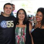 Mauricio Vieira, Eddla Camara E Samia Rafaela