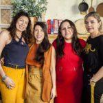 Monica Falcao Valeria Reis Rafaele Monteiro e Micheline Forte 2 150x150 - Os cliques do almoço de sexta no Giz Cozinha Boêmia