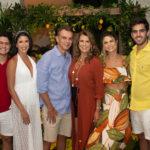 Otávio Queiroz, Marcela, Fred, Alexandra E Mariana Pinto, Lucas Ximenes