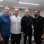 Tiago Santana, Rodrigo Villela, Silvio Frota E Jocéliio Leal