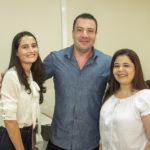 Bianca Freitas, Thiago Osterno E Vânia Strepeckes