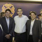 Célio Melo, Raul Dos Santos, Geraldo Luciano, Leonardo Girão E Adolfe Bichucher