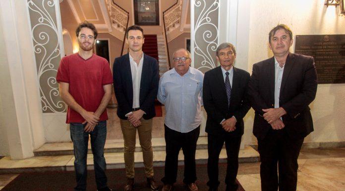 Cahrles Da Costa Bruxel, Rafael Mesquita, Eliezer Rodrigues, Plauto Carneiro Porto E Paulo Régis Botelho