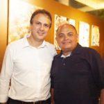 Camilo Santana e Theodoro Santos 2 150x150 - Ciro Gomes ganha aniversário surpresa no Pipo Restaurante