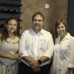 Carla Pinto, Hugo Leão E Raquel Cajé