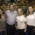 Caroline Pedrosa, Sergio Leite, Adriana Teixeira E Camila Escóssio