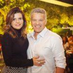 Cristine e Ferrucio Feitosa 2 150x150 - Ciro Gomes ganha aniversário surpresa no Pipo Restaurante